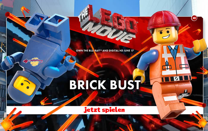 The LEGO Movie Brick Bust