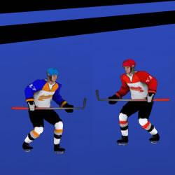 3 on 3 Hockey