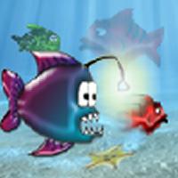 Wütend Hungrige Fische