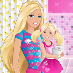 Babysitter Barbie