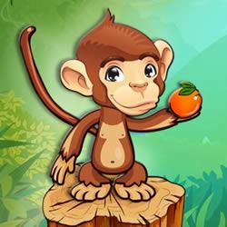 Frucht Affe