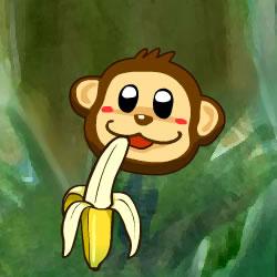 Bananen-Affe