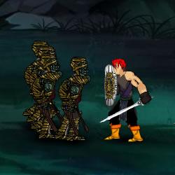 Krieger und Bogenschützen