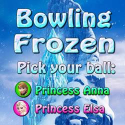 Die Eiskönigin Bowling
