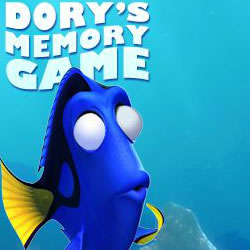 Finding Nemo Dory's Memory Game