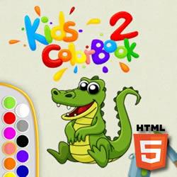 Farbbuch für Kinder 2
