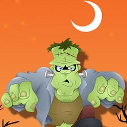 Frankenstein Halloween Puzzle