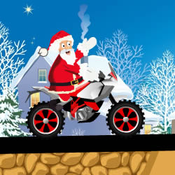 Santa Fun Bike Ride