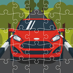 Ford Autos Jigsaw
